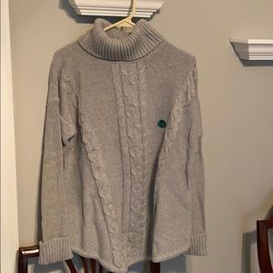 NWT LL Bean Cable Knit Sweater